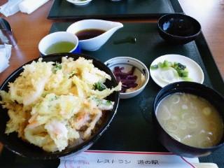 白エビかき揚げ丼(2013.8.25).JPG